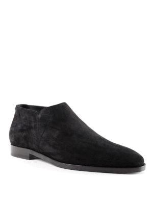 Saint Laurent: Loafers & Slippers online - Slim 15 suede slippers