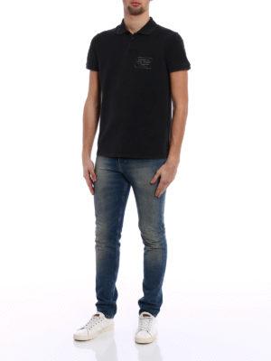 Saint Laurent: polo shirts online - Property of Saint Laurent polo