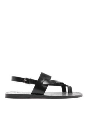 SAINT LAURENT: sandals - Culver sandals