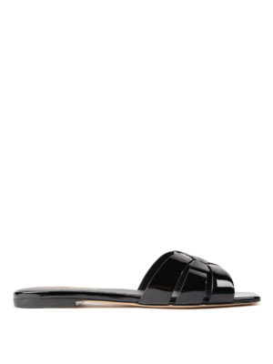 Saint Laurent: sandals - Nu pieds 05 slide sandals