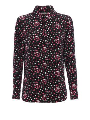 Saint Laurent: shirts - Crepe de chine silk shirt