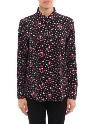 Saint Laurent: shirts online - Crepe de chine silk shirt