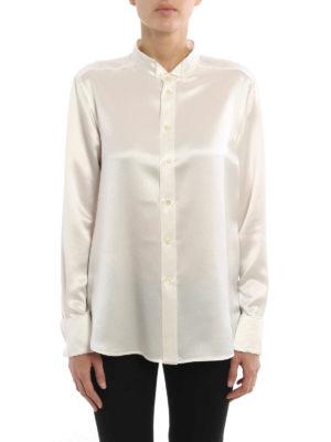 Saint Laurent: shirts online - Crepe satin shirt