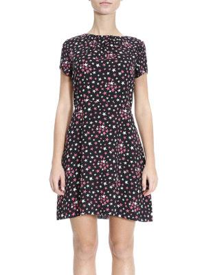Saint Laurent: short dresses online - Small stars pattern dress