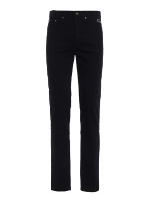 Saint Laurent: skinny jeans - Coloured wash denim jeans