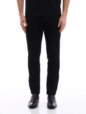 Saint Laurent: skinny jeans online - Coloured wash denim jeans