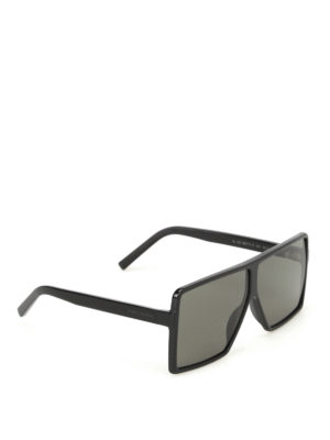 Saint Laurent: sunglasses - Betty oversized sunglasses