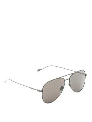 Saint Laurent: sunglasses - Black aviator sunglasses