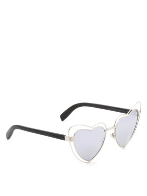Saint Laurent: sunglasses - New Wave Loulou sunglasses