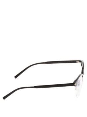 Saint Laurent: sunglasses online - Polished acetate round glasses
