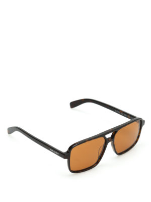 Saint Laurent: sunglasses - Squared frame sunglasses
