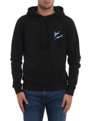 Saint Laurent: Sweatshirts & Sweaters online - Cotton hoodie