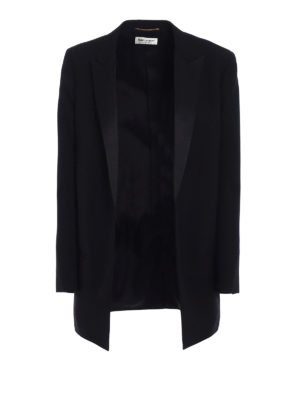 SAINT LAURENT: giacche sartoriali - Tuxedo mono petto boyfriend fit