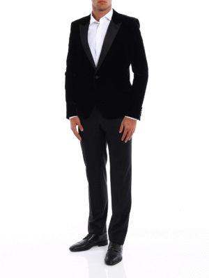 Saint Laurent: Tailored & Dinner online - Iconic Le Smoking velvet jacket