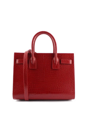 Saint Laurent: totes bags online - Baby Sac de Jour leather handbag
