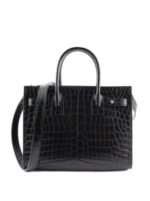 Saint Laurent: totes bags online - Sac de Jour Baby print leather bag