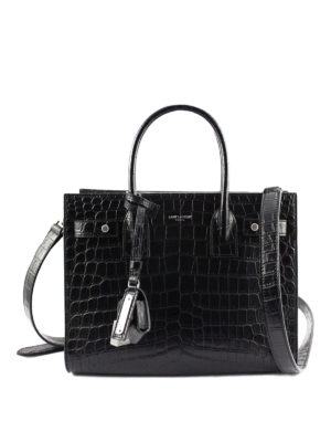 Saint Laurent: totes bags - Sac de Jour Baby print leather bag