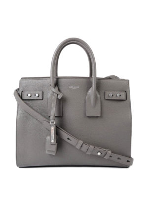 Saint Laurent: totes bags - Sac de Jour grainy leather bag