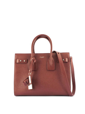 Saint Laurent: totes bags - Sac de Jour leather handbag