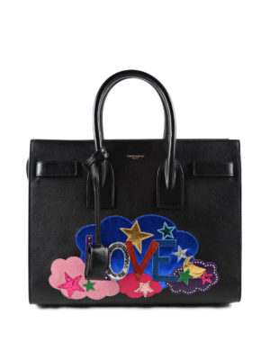 Saint Laurent: totes bags - Sac De Jour Love bag