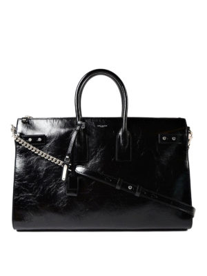 Saint Laurent: totes bags - Sac de Jour Souple 36 leather bag