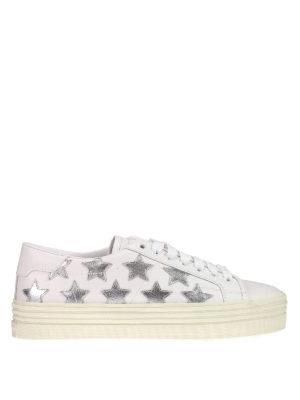 Saint Laurent: trainers - California maxi sole sneakers