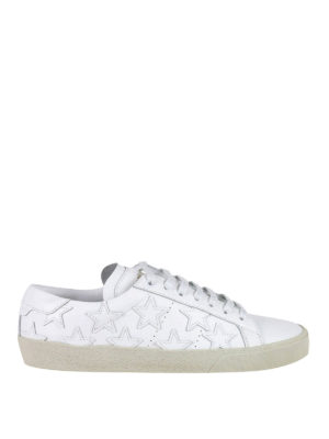 Saint Laurent: trainers - California star leather sneakers