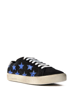 Saint Laurent: trainers online - California sneakers with stars