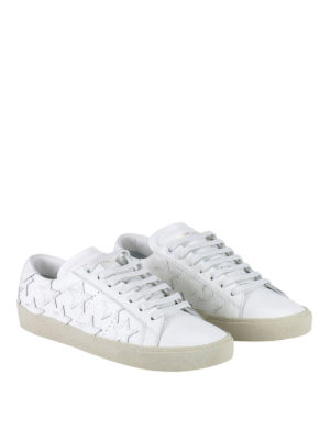 Saint Laurent: trainers online - California star leather sneakers