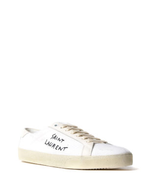 Saint Laurent: trainers online - Court Classic SL/06 canvas sneakers