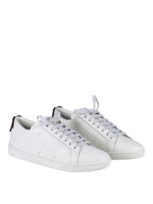 Saint Laurent: trainers online - SL/01 Lips leather sneakers