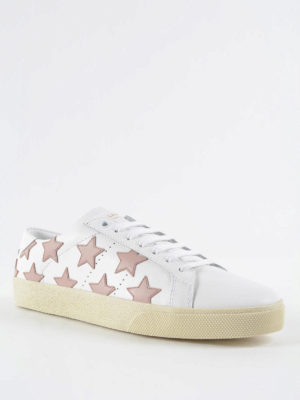 Saint Laurent: trainers online - Star leather sneakers