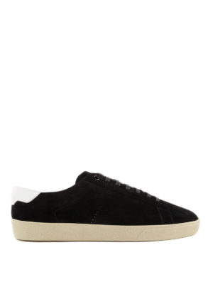 SAINT LAURENT: sneakers - Sneaker Signature Court sl/06 in pelle