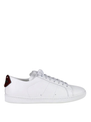 Saint Laurent: trainers - SL/01 Lips leather sneakers