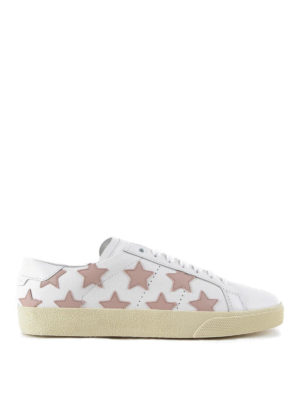 Saint Laurent: trainers - Star leather sneakers