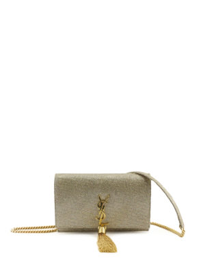 Saint Laurent: wallets & purses - Kate Monogram chain wallet