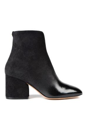 Salvatore Ferragamo: ankle boots - Pisa suede booties