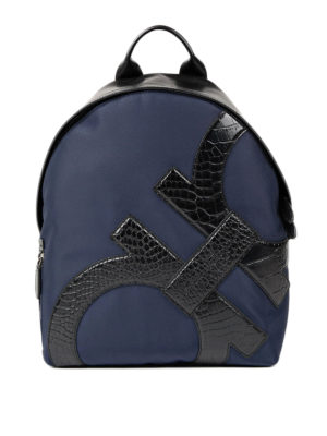 Salvatore Ferragamo: backpacks - Leather Gancio detailed backpack