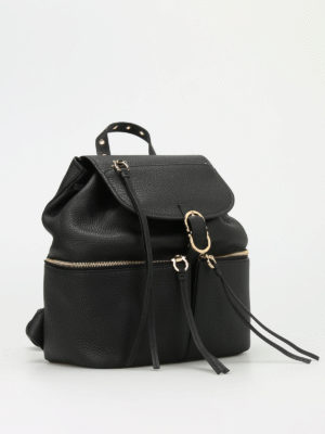 Salvatore Ferragamo: backpacks online - Carol soft leather backpack