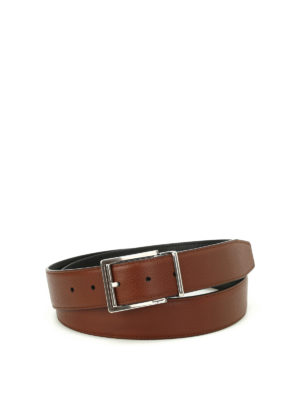 Salvatore Ferragamo: belts - Double Adjus reversible belt