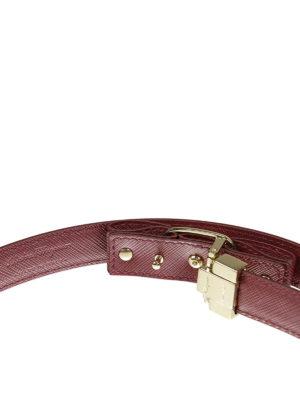 Salvatore Ferragamo: belts online - Iconic Vara bow leather belt