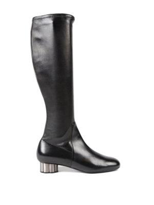 SALVATORE FERRAGAMO: stivali - Stivali Razzoli tacco fiore