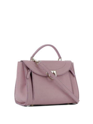 Salvatore Ferragamo: bowling bags online - Sofia Rainbow small pink handbag