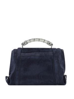 Salvatore Ferragamo: bowling bags online - Soft Sofia suede handbag