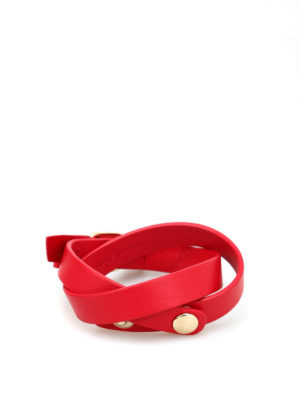 Salvatore Ferragamo: Bracelets & Bangles online - Vara bow double wrap bracelet