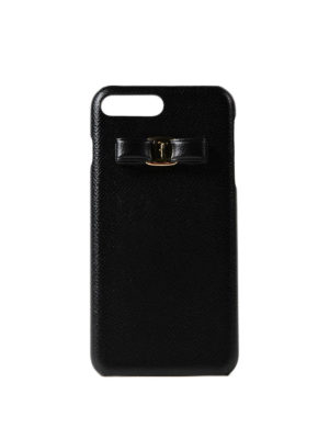 Salvatore Ferragamo: Cases & Covers - iPhone 7 Plus Vara bow case