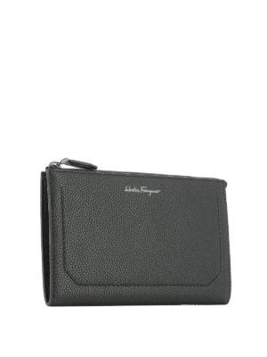 Salvatore Ferragamo: clutches online - Firenze leather clutch