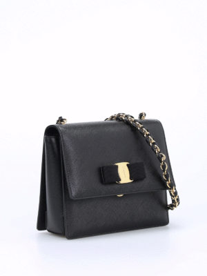 Salvatore Ferragamo: clutches online - Ginny leather clutch