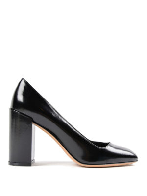 Salvatore Ferragamo: court shoes - Arezzo leather pump