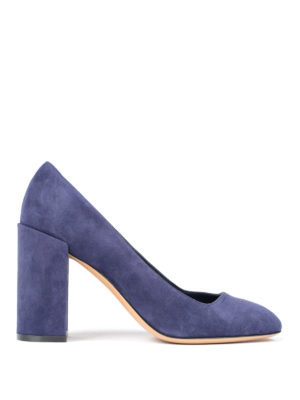 Salvatore Ferragamo: court shoes - Arezzo suede pump